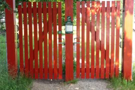 Porte og låger i Dyrehaven i Middelfart